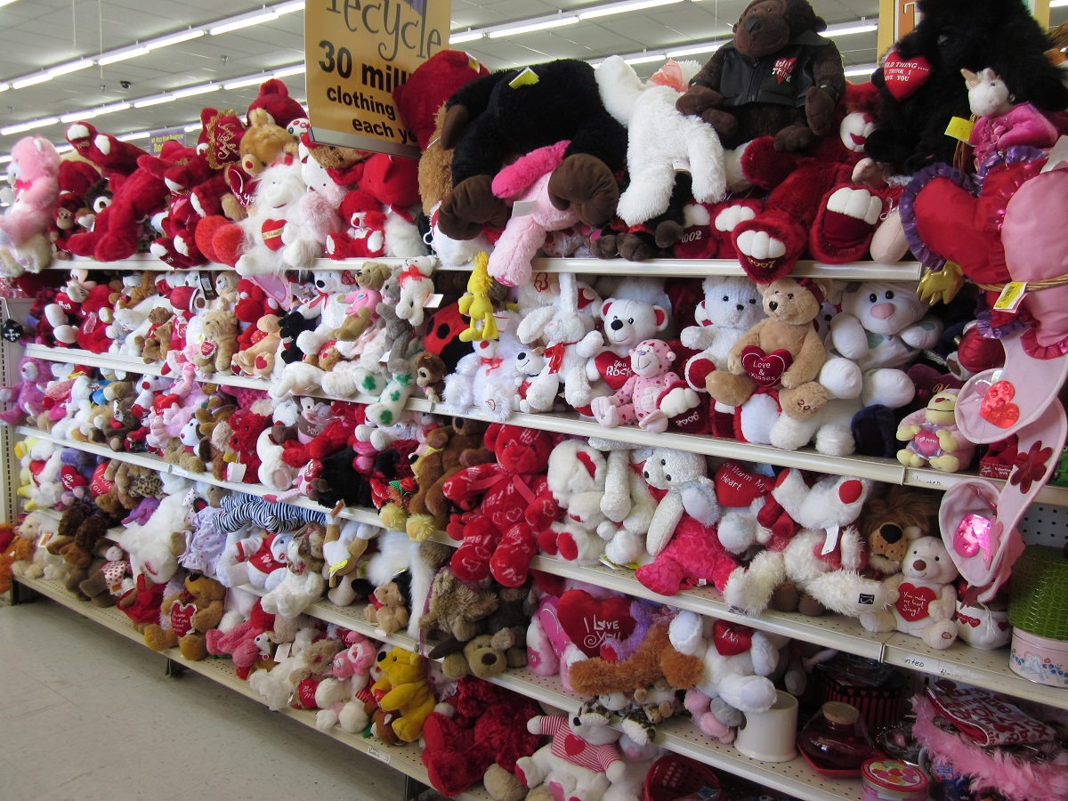 Roses Valentine S Day With Stuff Toys : Valentine s day follies second hand roses