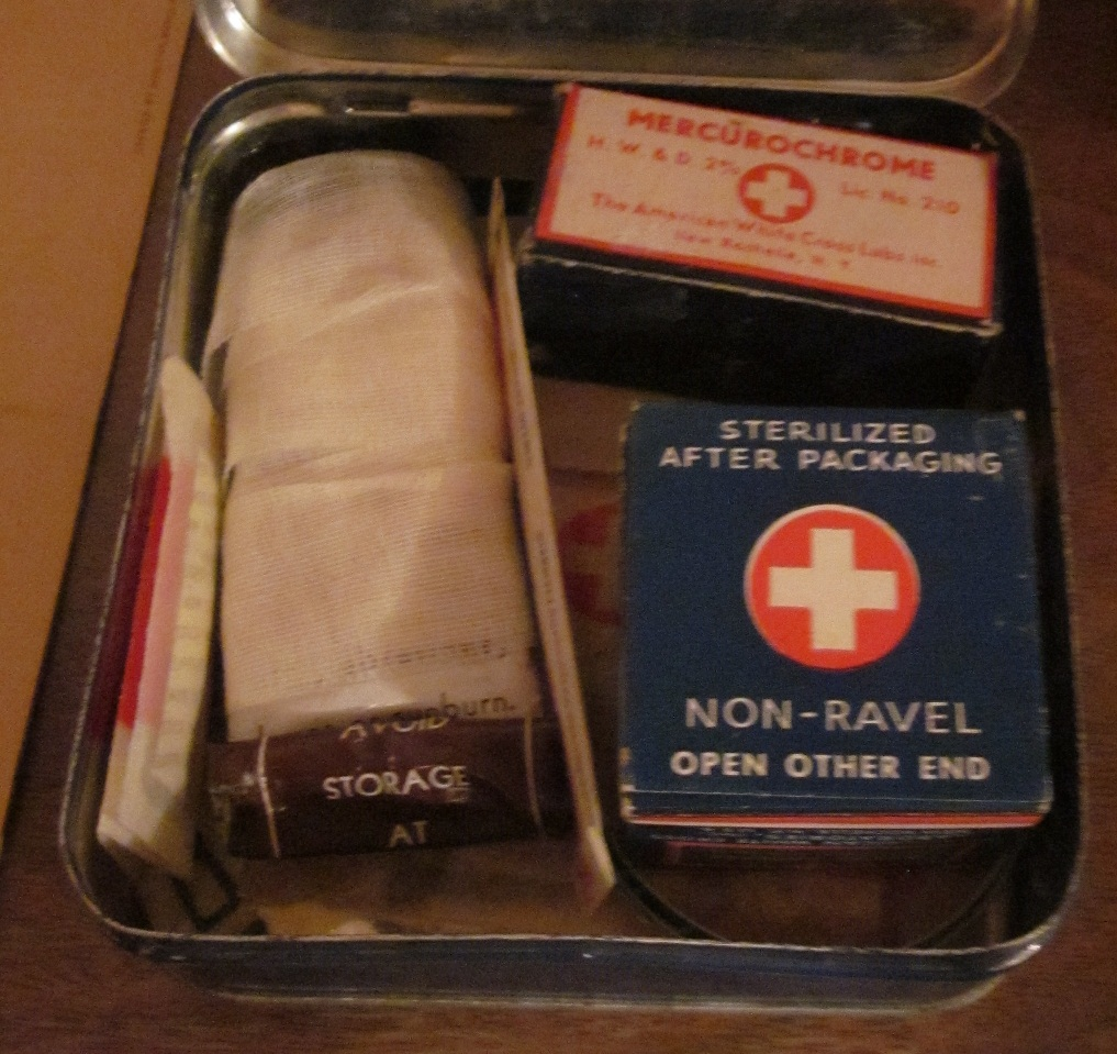 Safety What Are First Pins Aid Used Kit