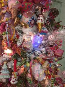 Christmas Tree overload close-up