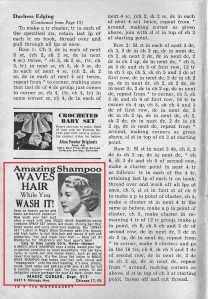 Who needs curlers with this shampoo April 1957