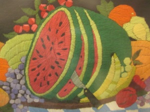 Fruit of the Loom closeup