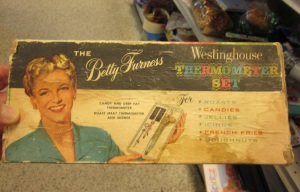 Betty Furness Thermometer set