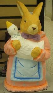 Easter bunny eats goose?