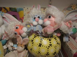 Estate sale Easter craft