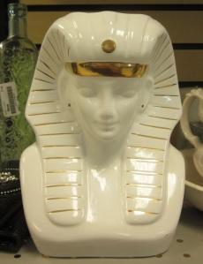 King Tut Head Vase