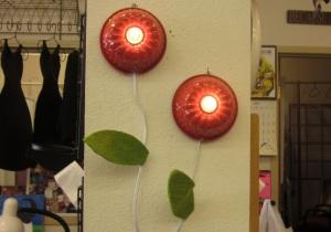 Bundt Pan Flower Light