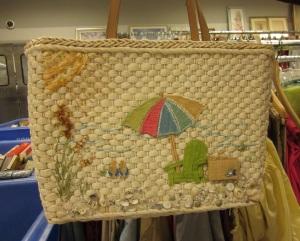 Fun beach purse
