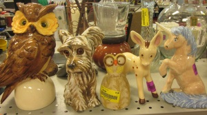 Who, or what, spooked the tchotchkes?