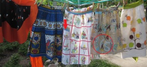 Fun Fabrics from the 1950's to 1970's