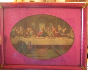Fushia Last Supper