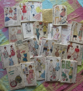 Piles O' Apron Patterns