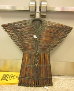 Wooden Armor Wall Hanging