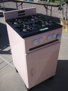 Cooking in Pink
