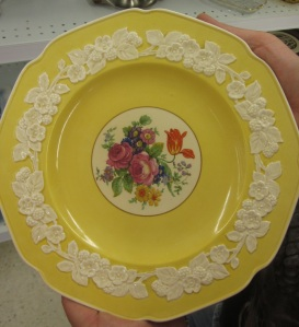 Crown Ducal Gainsborough England plate