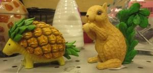 mPineapple armadillo and Peanut Squirrel