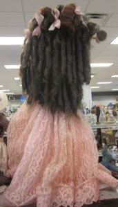 Back view of the hair
