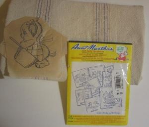Days of the week towel kit