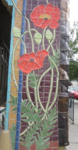 Red Poppy tiles