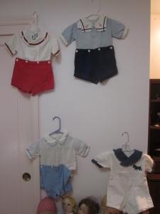 Vintage children's clothing