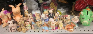 Pig collection hits the thrift store