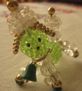 Plastic bead animal