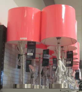A Palooza of Pink Lamps