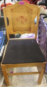 Fun vintage chair