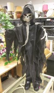 Mr. Death wears nice loafers!