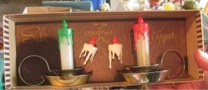 Christmas salt and pepper