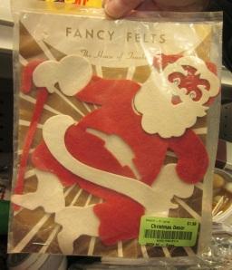 Fancy Felt Santa Kit