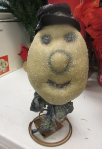 Sparkly potato head
