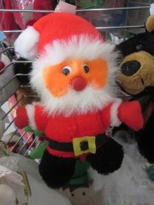 Spray Tan Santa