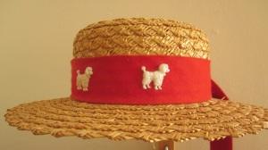 Poodle Chapeau