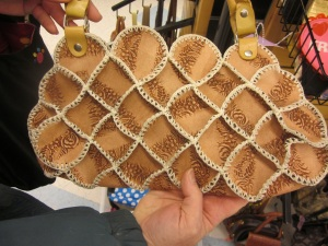 Commercially made purse