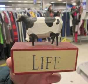 Cow = Life