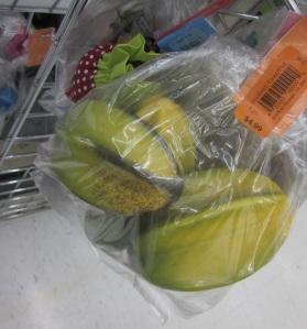 Plastic star fruit