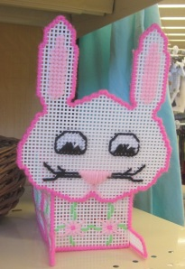 Plastic canvas bunny