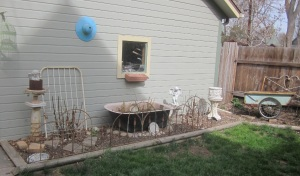 Estate Sale garden