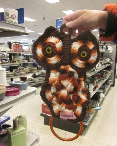 Put the yarn down and step away from the owl