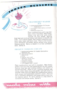 Marshmallows and Tomato?