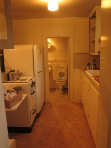 Basement time-capsule kitchen