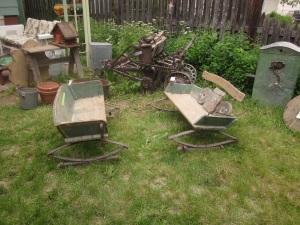 Buckboard benches