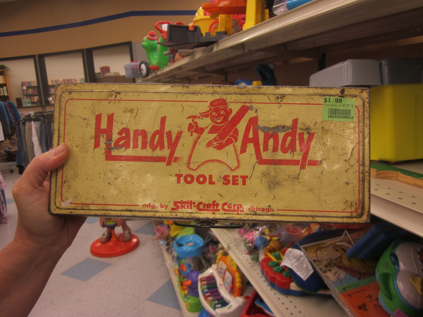 handy andy This entry has information about the startup entry named handyandyexe that  points to the handyandyexe file this program does not need to automatically.