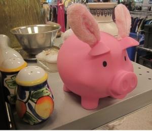 I'm just a mixed up piggy bank