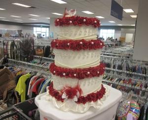 Is it a cake, a hat ...