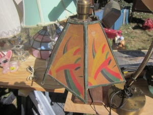 Fun Arts and Crafts lamp shade