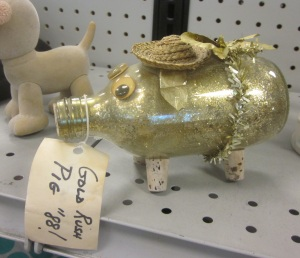 Gold Rush Pig