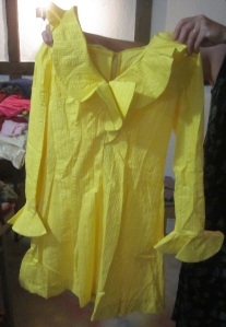 Yellow Mod dress