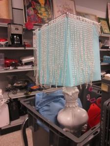Bead Fringe Lamp