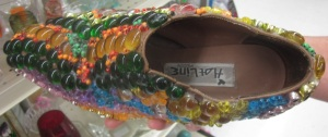 Bedazzeled shoe2